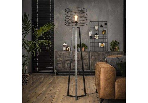 Luca Floor lamp Charcoal Industrial Design