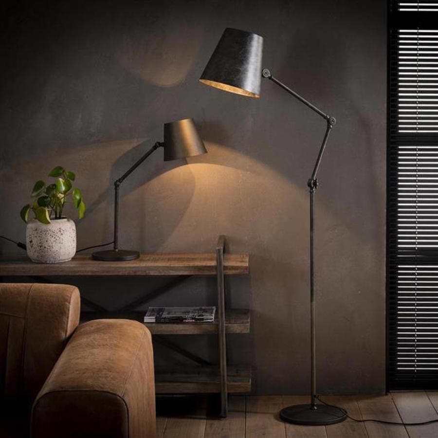 Aris floor lamp charcoal - Industrial design