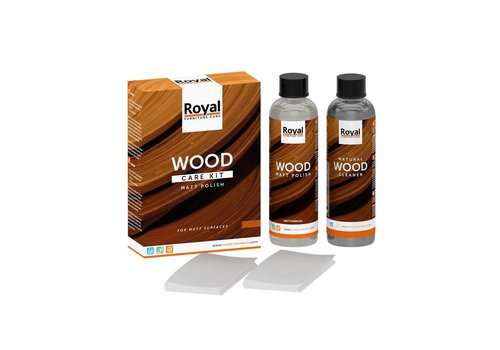 Wood care kit 2 x 75 ML