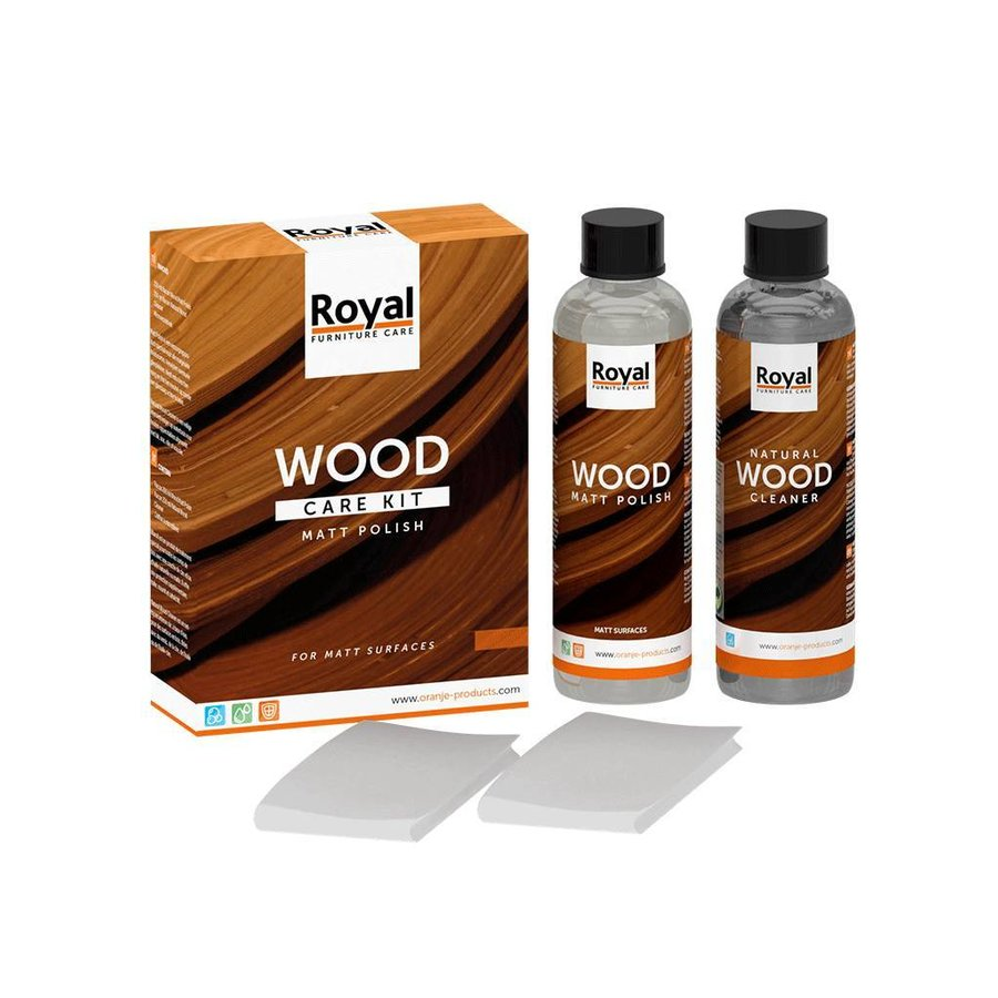 Wood care kit 2 x 75 ML