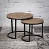 Industrial Coffee Table Storm (set of 2)