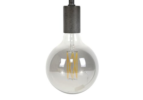 LED Light bulb LED  Ø12,5 cm Smoke Grey
