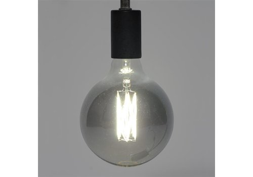 LED Light bulb Marble Ø12,5 cm Smoke Grey