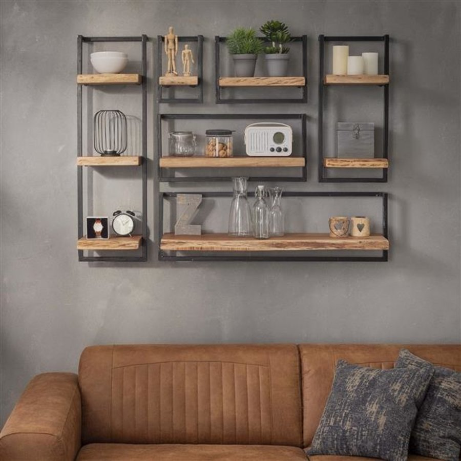 Wall shelf Jax 40 cm Solid Wood
