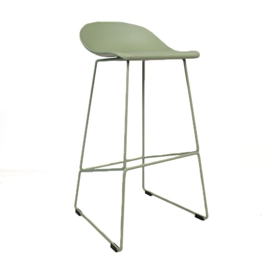Modern Bar Stool Erica green