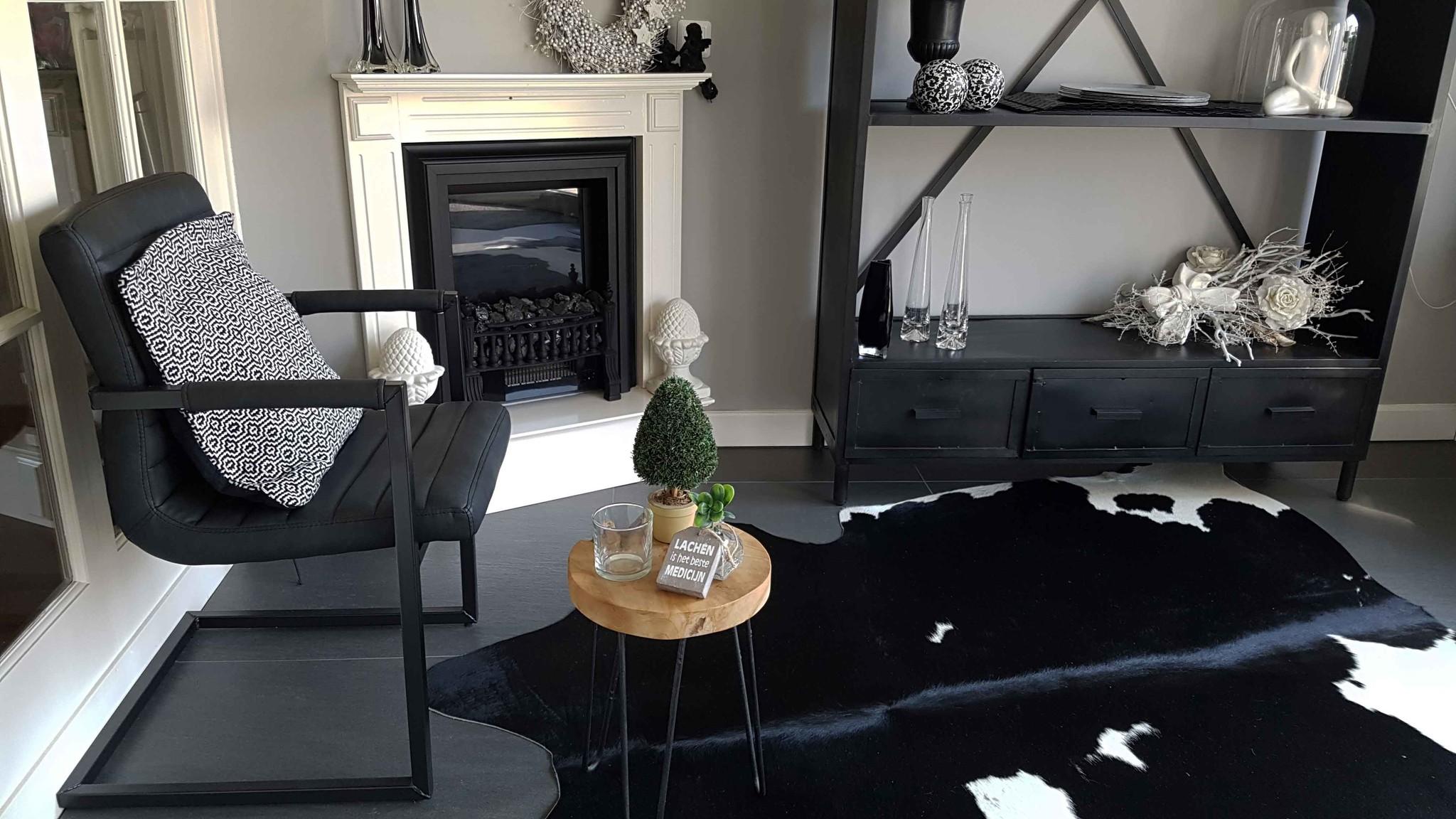 Dining chair Bruut Black