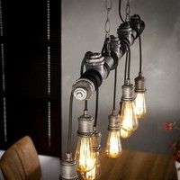 Ceiling Light Zander 7L Industrial Design