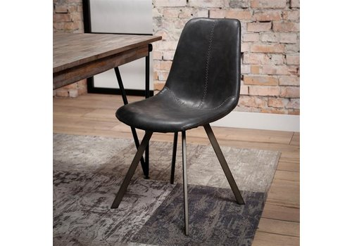 Modern dining chair Kendal Black