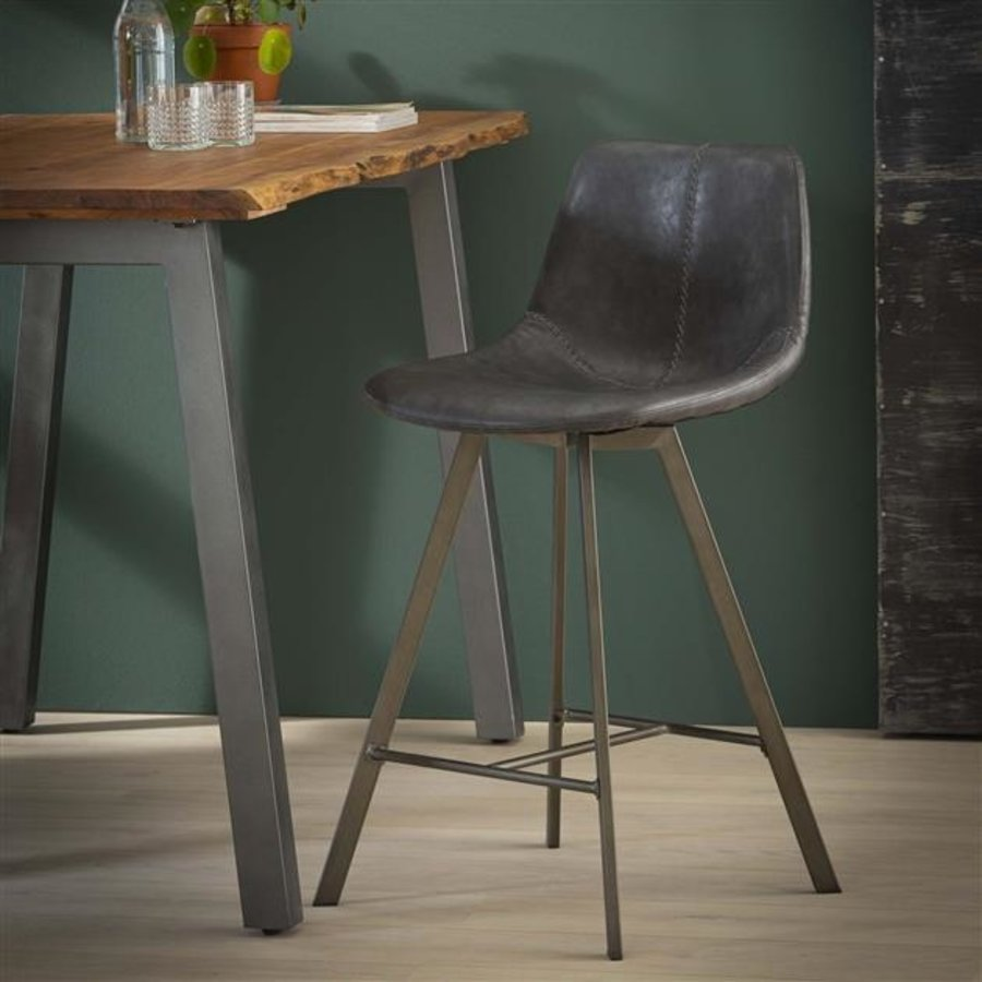 Modern bar stool Kendal Black