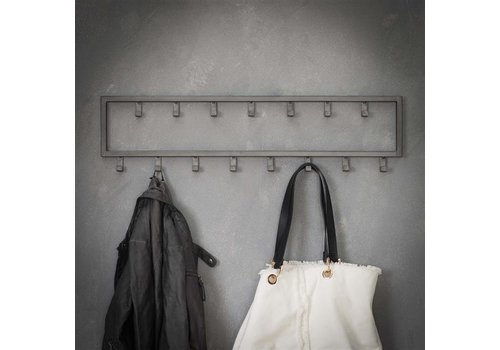 Industrial coat rack Max 15 hooks