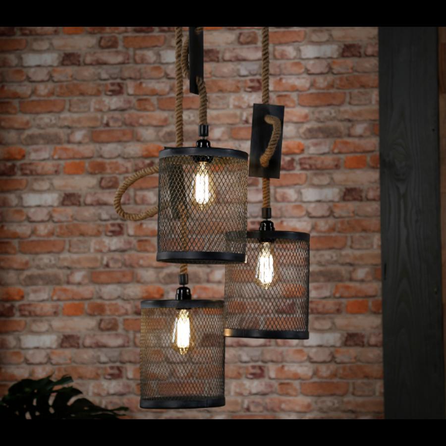 Ceiling light Polo 3 pendants