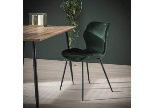 Velvet dining chair Golf Green