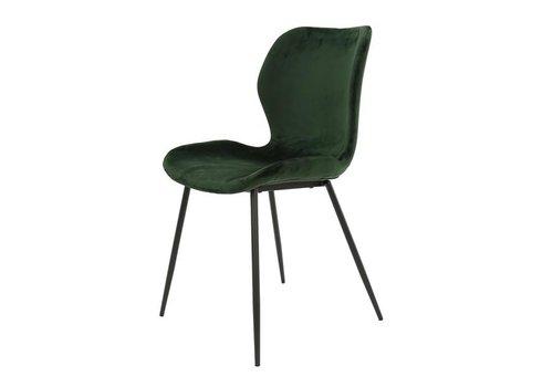 Velvet dining chair Golf Green