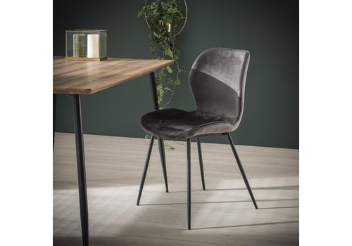 Velvet dining chair Golf Anthracite