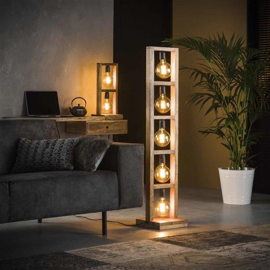 Floor lamp Modulo solid wood