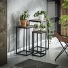 Industrial side table (set of 3) Teco