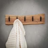 Wooden coat rack Tommy 5 hooks