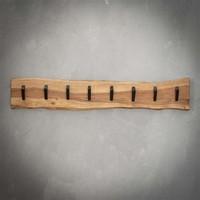 Wooden coat rack Tommy 8 hooks