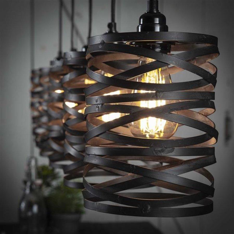 Industrial Ceiling Light Shearer 5 Pendants