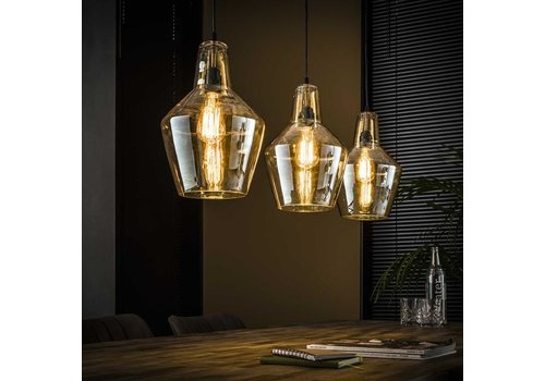 Ceiling Light Hudson cone shape 3 pendants