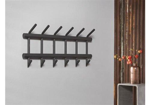Coat rack Hawkins 2x6 hooks
