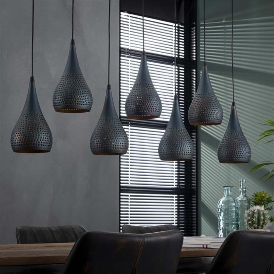 Industrial Ceiling Light James 7x ø15