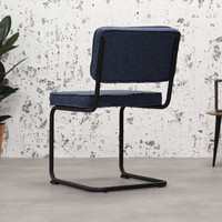 Industrial dining chair Martin Blue