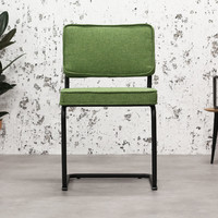 Industrial dining chair Martin Green