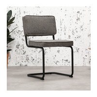Industrial dining chair Martin Grey