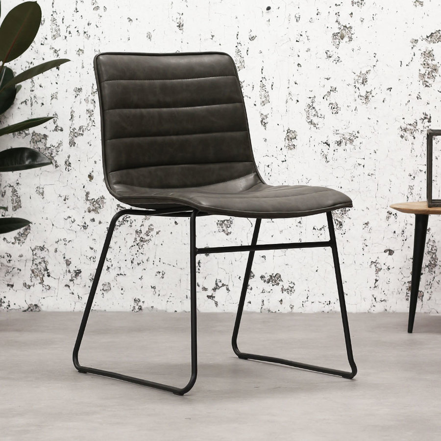 Industrial Dining chair Ryan Anthracite