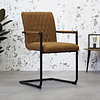 Industrial Dining Chair Damian Cognac