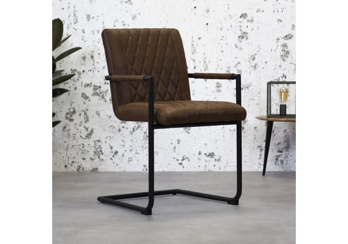 Industrial Dining Chair Damian Brown
