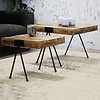 Industrial Coffee table Philip (set of 2)