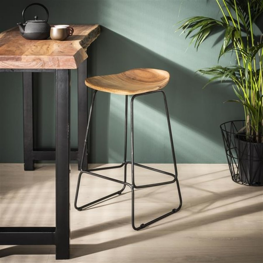 Vintage Bar Stool Kane thin