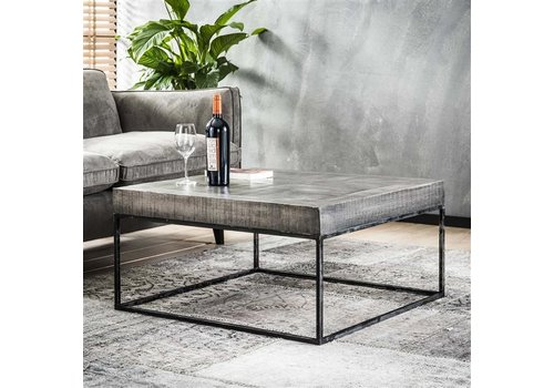 Industrial Coffee Table Grado Solid Mango Wood