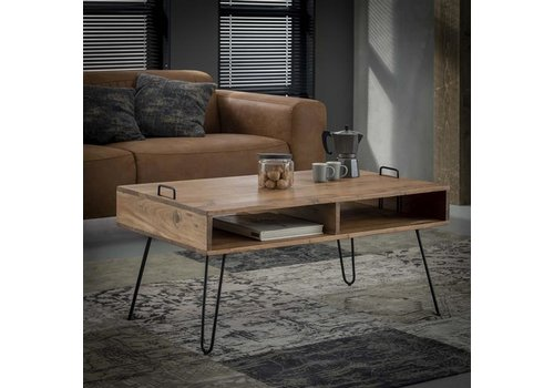 Industrial Coffee table Delph Solid Wood