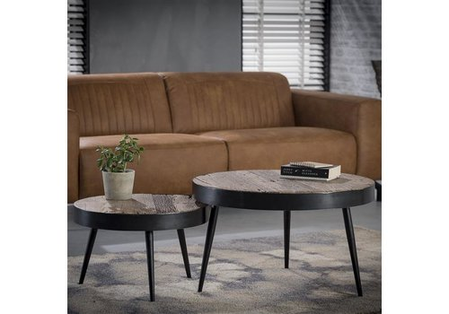 Industrial Coffee table Bertrand (set of 2)