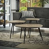 Industrial Coffee table Holding (set of 3)