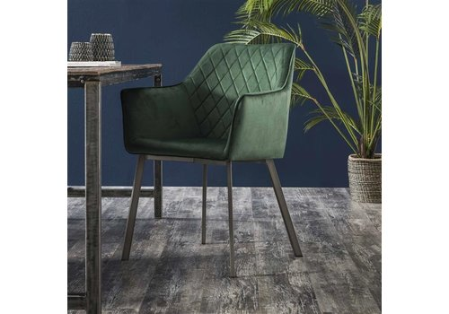 Industrial dining chair Bennett Green