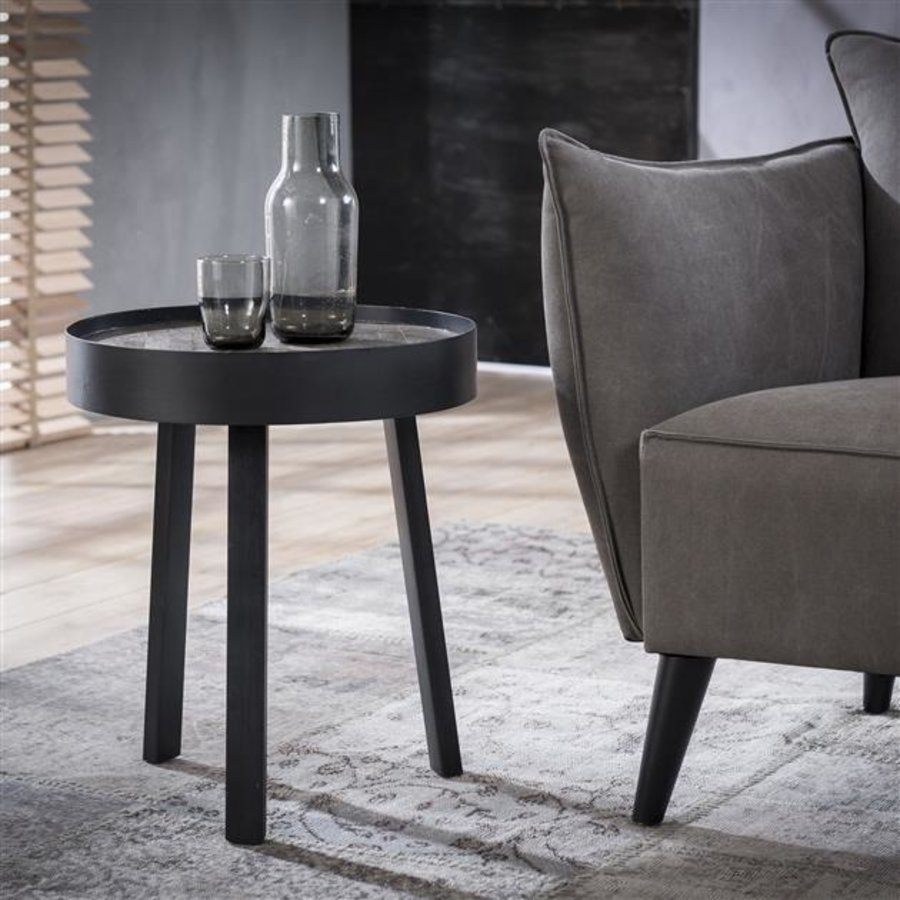 Industrial Side Table Hughes