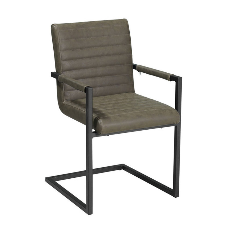 Industrial Dining Chair Kubis Green