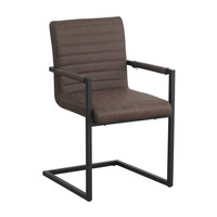 Industrial Dining Chair Kubis Taupe