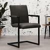 Industrial Dining Chair Brandon Anthracite