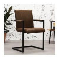 Industrial Dining Chair Brandon Brown