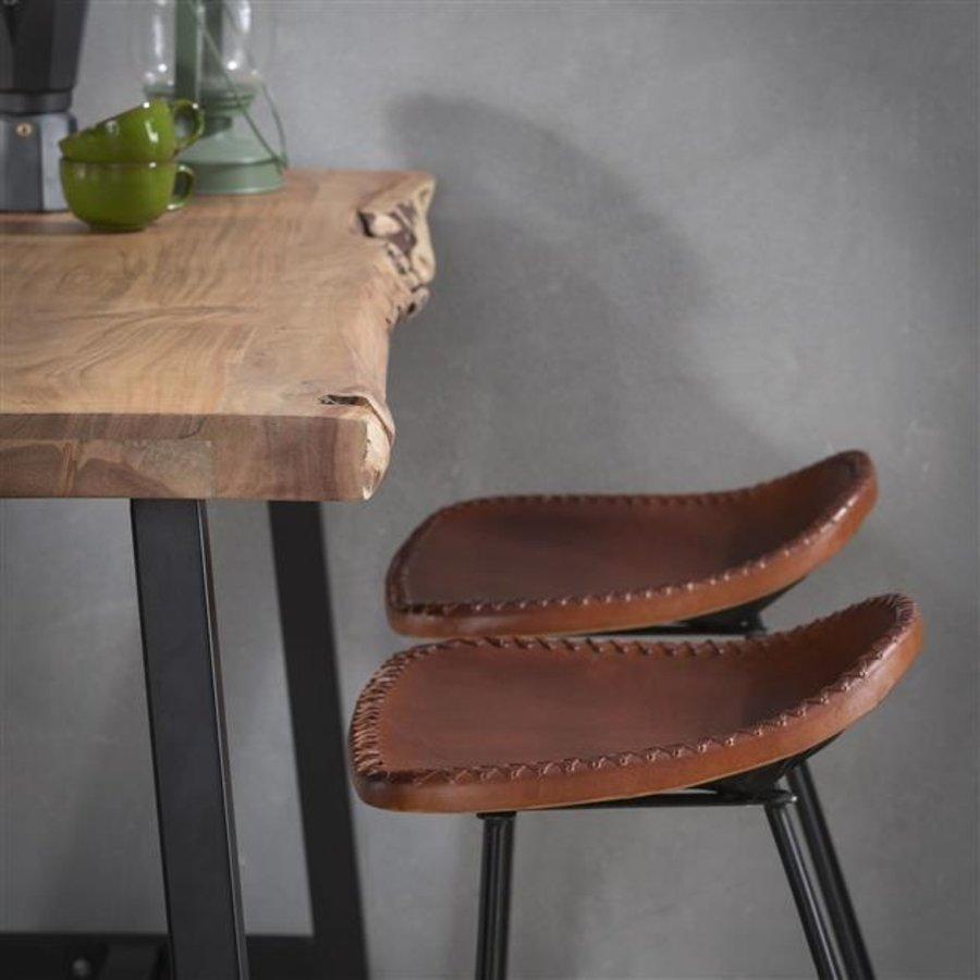Industrial Bar Table Swift Solid Acacia Wood