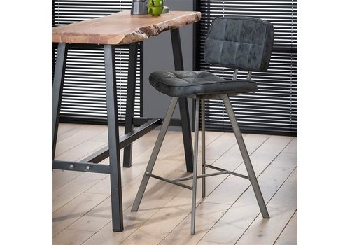 Modern Bar Stool George Black