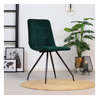 Velvet dining chair Lisa Green