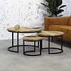 Industrial Coffee Table Capella (Set of 3)