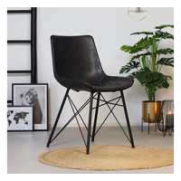 Industrial Dining Chair Lauren Anthracite