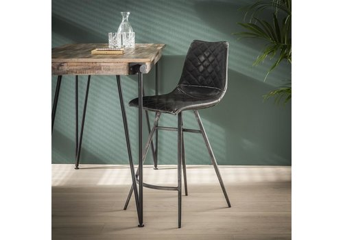 Industrial Bar Stool Nettles Anthracite